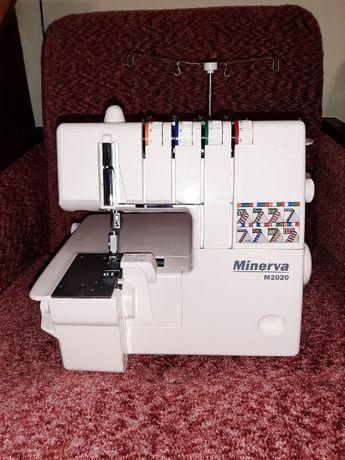 Продам НОВЫЙ оверлок Minerva M2020