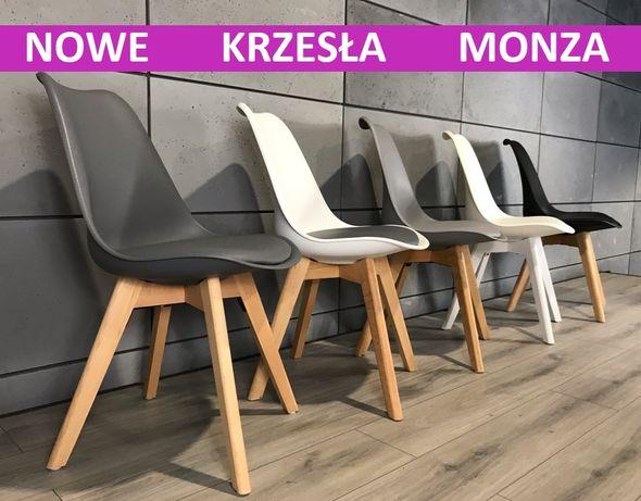 krzesło tapicerowane nowoczesne skandynawskie NOWE krzesła