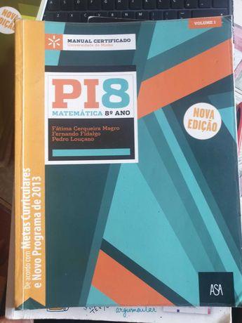 PI 8- Matemática- (COMO NOVO)
