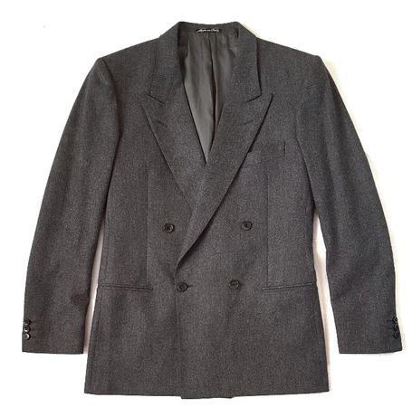 Винтажный удлиненный шерстяной ретро блейзер пиджак 90-x Jaeger