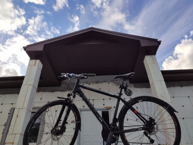 Велосипед 28, гидравлика, передняя вилка с амортизатором