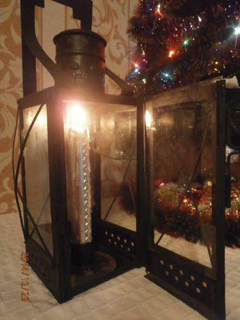Железнодорожный свечной фонарь 1951года,