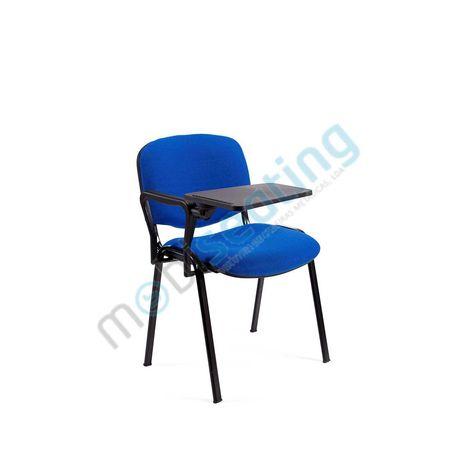 Cadeira formacão com palmatoria Pele Sintetica/ Tecido (novo)