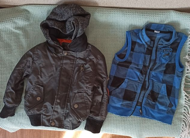 куртка жилетка на хлопчика 2-3 р.