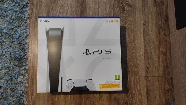 Konsola PlayStation 5 PS5. Nowa