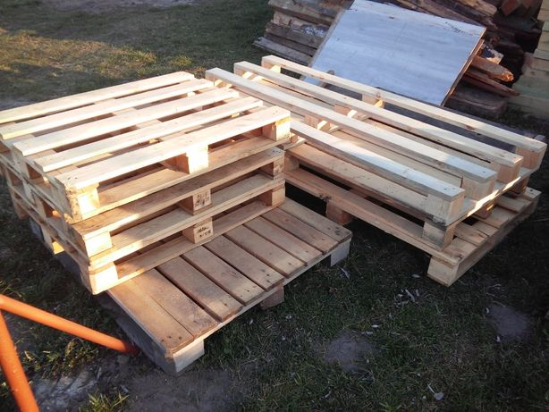 Palety na meble ogrodowe ozdoby i na opał Drewno Drzewo Cenna Okazja