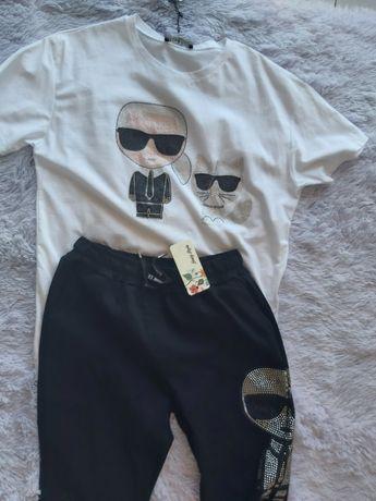 Karl lagerfeld spodnie xl xxl