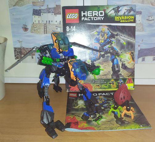 Zestaw Lego Hero Factory Surge & Rocka Combat Machine 44028