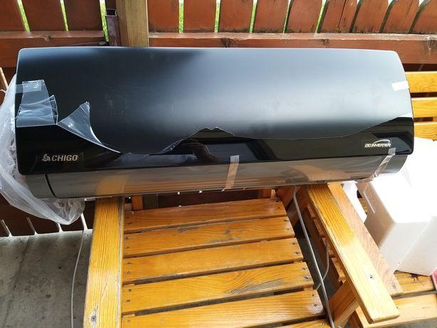 Klimatyzator chigo 3.5kw czarne szkło nowy