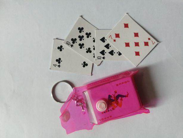 Brelok karty do gry mini