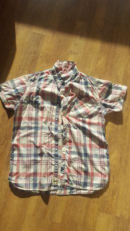 Tommy Hilfiger Denim XL koszula męska stan bardzo dobry  fajne kolory