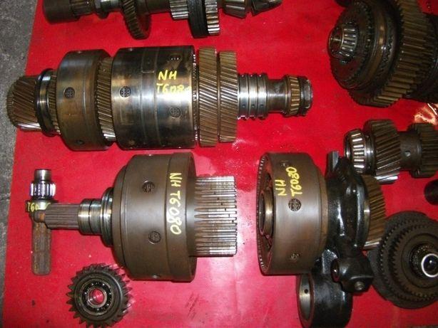 new holland t6070,6080,6090--skrzynia biegów, kosz,wałek-- części