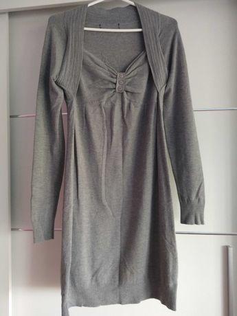 Tunika sukienka z bolerkiem