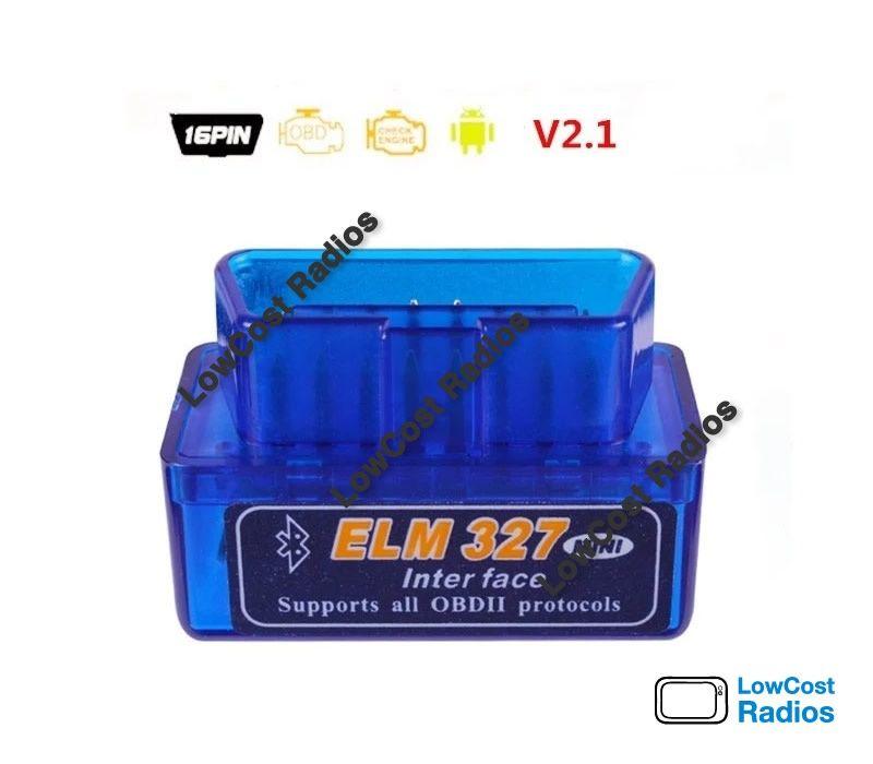 Ficha OBD 2 bluetooth ELM327 Mini Bluetooth diagnóstico auto OBD2