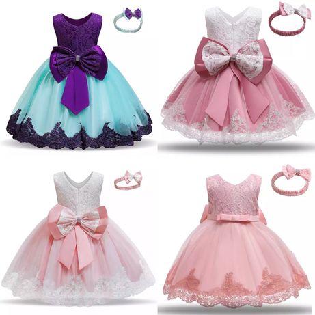Нарядне дитяче плаття на 1 рік рочок детское платье 2 3 74 80 86 90