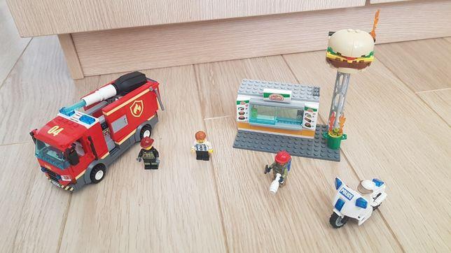 Klocki lego City nr zestawu 60214+ zabawka gratis