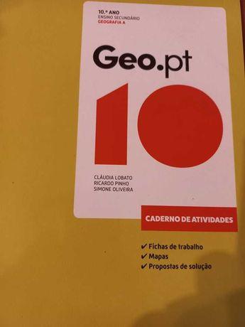 caderno atividades geografia 10 ano- novo