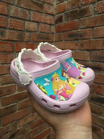Кроксы CROCS Disney Princess Размер 24 (13.5 см.)