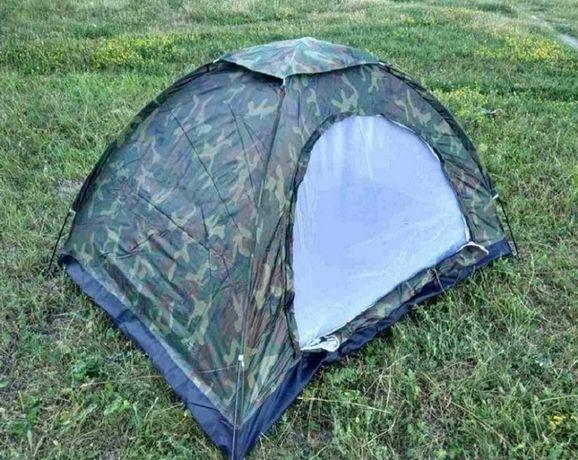 """Палатка четырехместная 2х2,5 м / палатка туристична """"Хакі"""""""