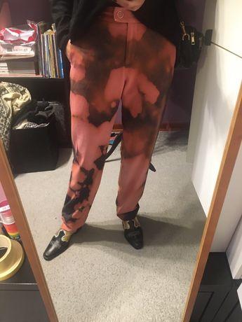 Orginalne spodnie roz M