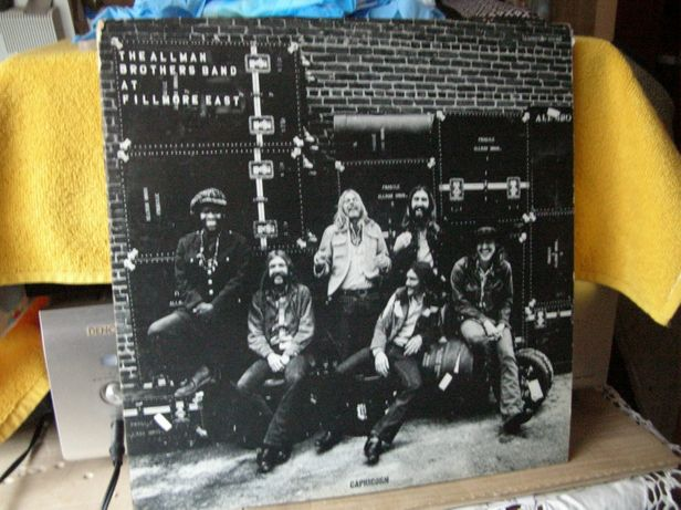The Alman Brothers Band At Fillmore East 2LP Live 1 Press USA winylowa