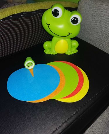 Gra froggy party żaba