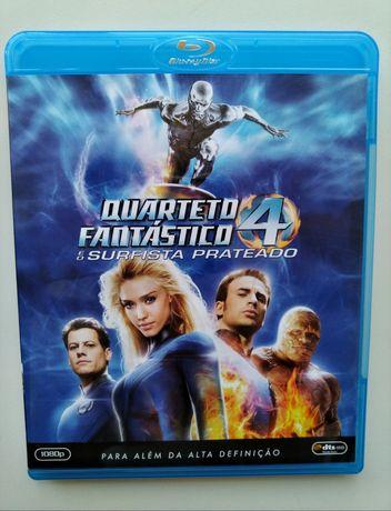 Blu-ray Quarteto Fantástico : Surfista Prateado