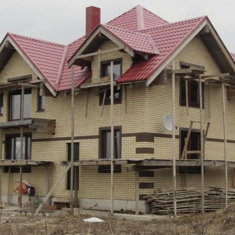 СТРОИТЕЛЬСТВО домов под ключ, все виды работ,фундамент,коробки, кровля