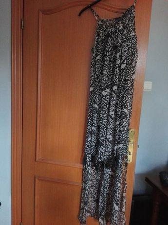Nowa długa sukienka plażowa bpc r,42