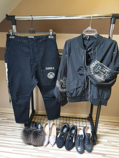 Spodnie Baggy Boy Friend L Xl XXL