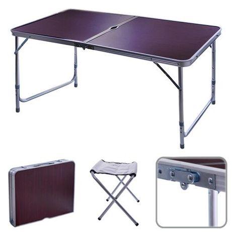 Стол раскладной + стулья 4 шт