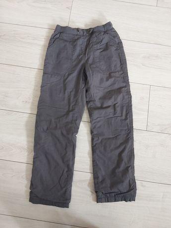 Spodnie ocieplane zimowe 140