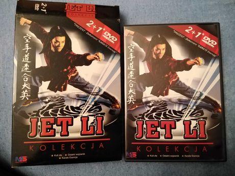 Kolekcja Jet Li: Kult zła, Ostatni wojownik, Karate esencja BOX [3DVD]