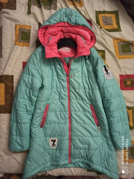 Куртка осень-весна на рост 152 Барбарис