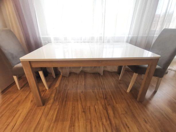 Biały Stół 160x90 rozkładany do 207x90