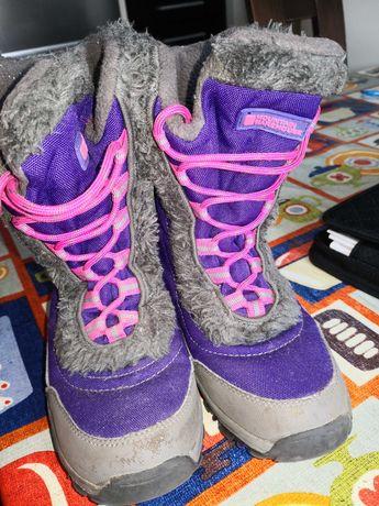 Buty zimowe dziewczęce rozm. 32