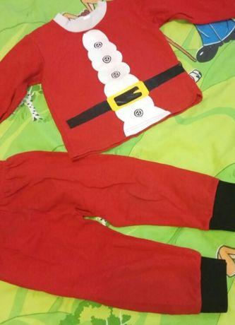 Новогодний,Костюм Санта Клаус,Дед мороз