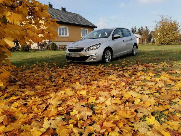 Peugeot 308  Niski Przebieg 85000km 1.6diesel  116KM 2014r