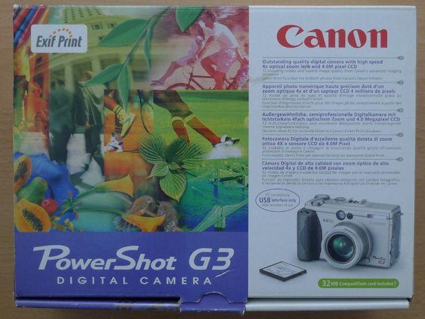 Aparat fotograficzny Canon PowerShot G3 Digital Camera
