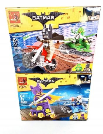 klocki Batman 176 elementów 2pudełka klocków Robin