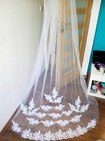 Welon ślubny długi