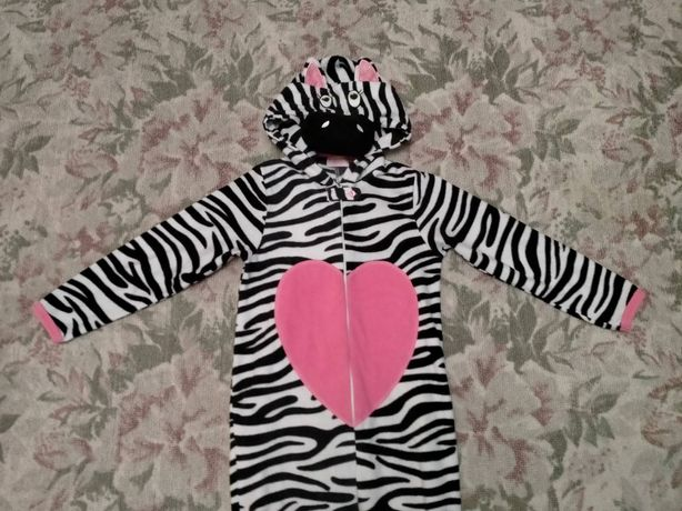 Піжамка Чудовий костюм  Корівка на флісі 9- 10 років
