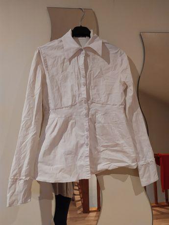 Biała bluzka elegancka M