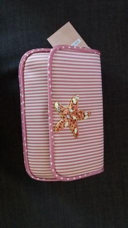 Torebka kopertówka Menbur różowa nowa z metkami