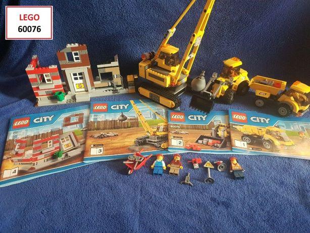LEGO CITY (5 Sets): 60076; 60073; 60072; 4204; 4200