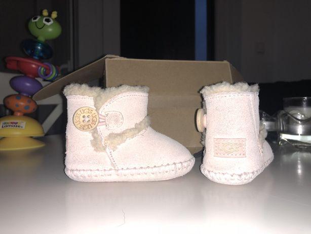 Ugg buty dla niemowlaka dziewczynki niechodki