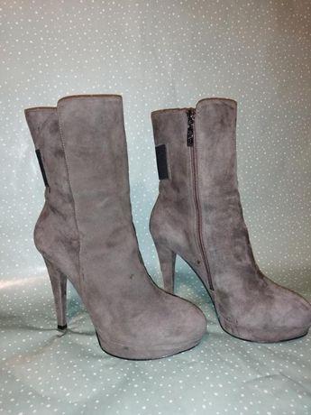 Замшевые сапоги, ботинки guess, 39 р