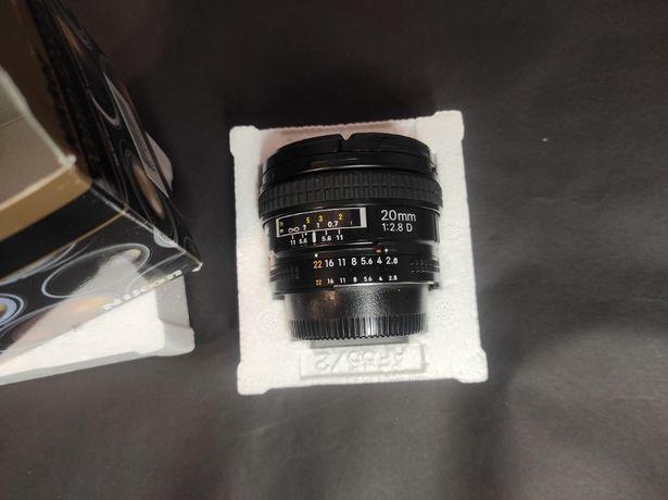 Об'єктив Объектив Nikon AF Nikkor 20mm 1:2.8D 20 мм f/2.8d 2