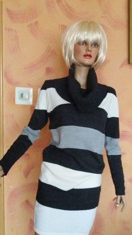 Sweter-tunika H&M r.M