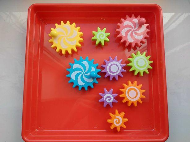 Арт мозаика для малышей с крупными деталями Шестеренки, конструктор